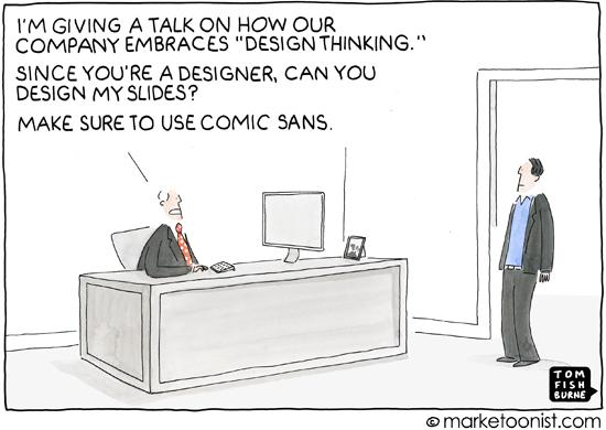 """""""Design Thinking"""" - new marketoon and post on #innovation and #design http://t.co/pRAbiN0Ugr http://t.co/2Aq0EzkoWo"""