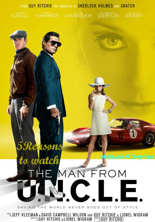 Review of #ManFromUncle movie