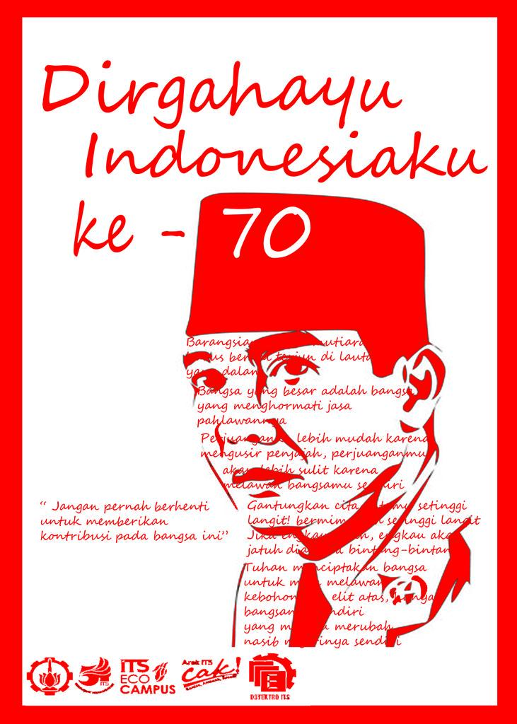 DIRGAHAYU REPUBLIK INDONESIA K3-70