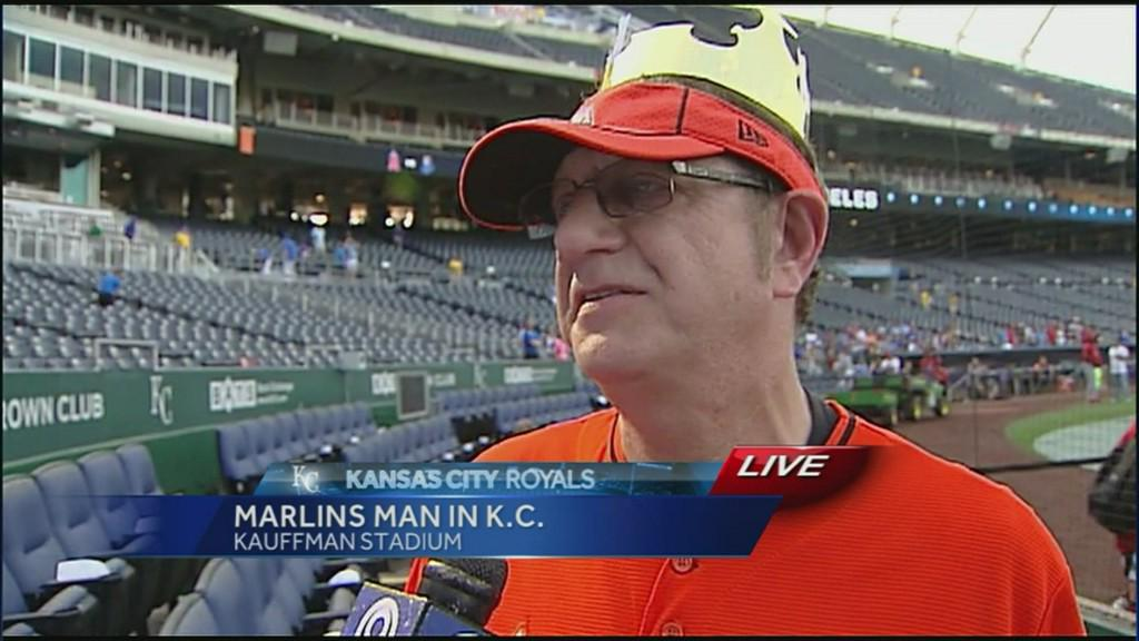 Trending: 'Marlins Man' marvels at tailgates, says KC fans top St. Louis http://t.co/WgWjRm1biW