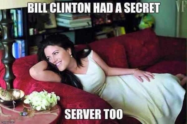 Hillary Clinton e-mail server kept in bathroom NO SHIT!