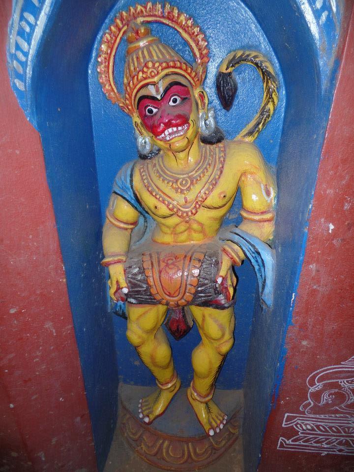 KANAPATA MAHAVIR story behind the name of Lord Hanuman