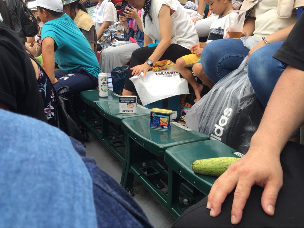 席の取り方うちなんちゅ👍 pic.twitter.com/wPL25uMqet
