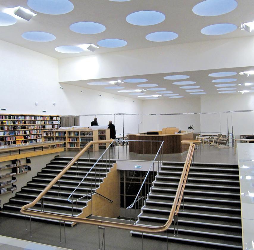 Arquitectura moderna arq mod twitter for Biblioteca arquitectura