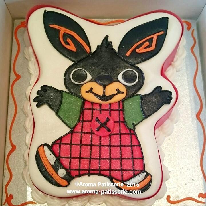 Aroma Patisserie on Twitter Bing Bunny Birthday Cake made to