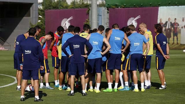 All Barça Players Called Up For Super Cup