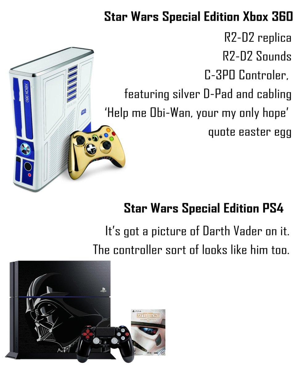 PS4 Star Wars Edition / Battlefront. Rejoindrez-vous le côté obscur ? CMmu-MXWEAAmdw5