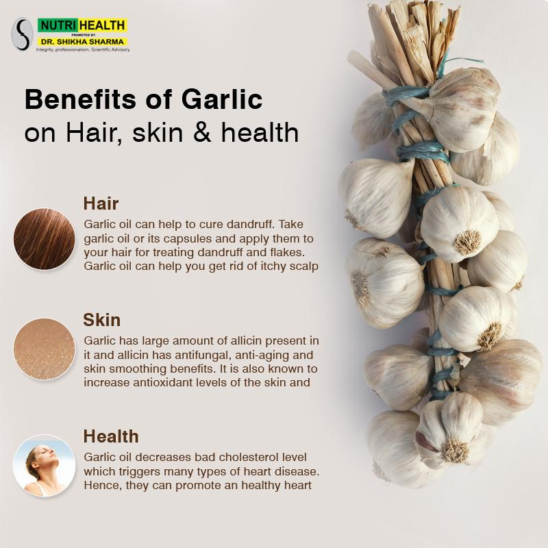 how to make garlic oil for hair