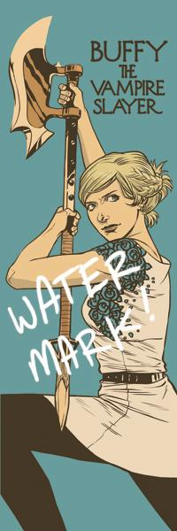 Who loves bookmarks? (Me!) Hopefully you Buffy fans do, too.  I'm adding these to my convention wares! http://t.co/GPCt0S9NrI