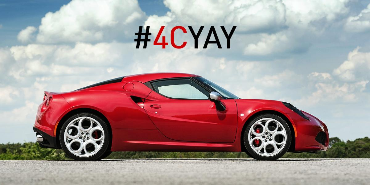 ".@TheVampsJames ""I drive an Alfa 4C when I'm dreaming, baby... "" #4CYay http://t.co/nFlYxxb1kR"