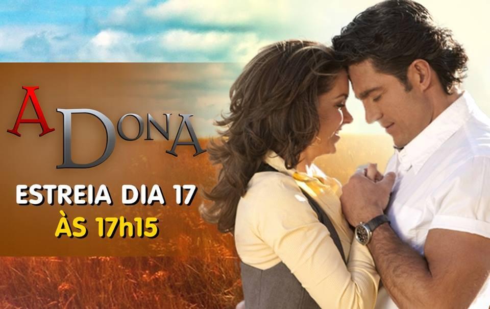 Atenção! No Sempre Romântica #NovelaMexicana - Estreia hoje no @SBT_Novelas: A Dona -> http://t.co/emeiJH5CL4 http://t.co/8UTiUMxPv5