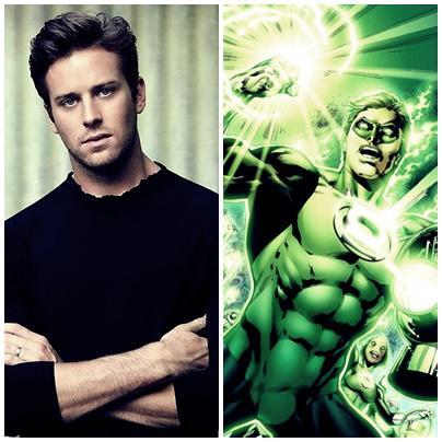 Armie Hammer: No va a ser Green Lantern, pero Hush le queda muy bien.
