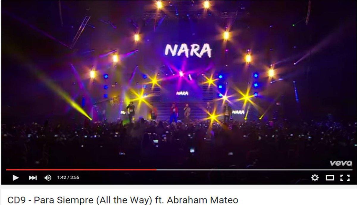 #ParaSiempre (All the Way) de @somosCD9 ft. @AbrahamMateoMus (En Vivo) --> http://t.co/Ebh1oBoulH http://t.co/FZXQsntEFE