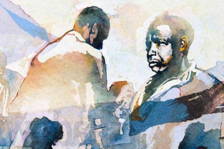 L'art militant et solidaire de Bruce Clarke (derniere chronique de @AAWaberi)  http://www.lemonde.fr/afrique/article/2015/08/17/l-art-militant-et-solidaire-de-bruce-clarke_4728131_3212.html…