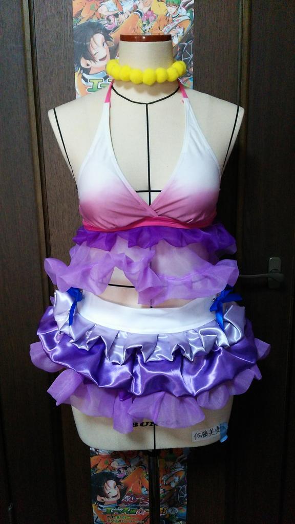 夏色は今年に入って4着も作りました~~~女子衣装はやっぱり作っていて楽しい