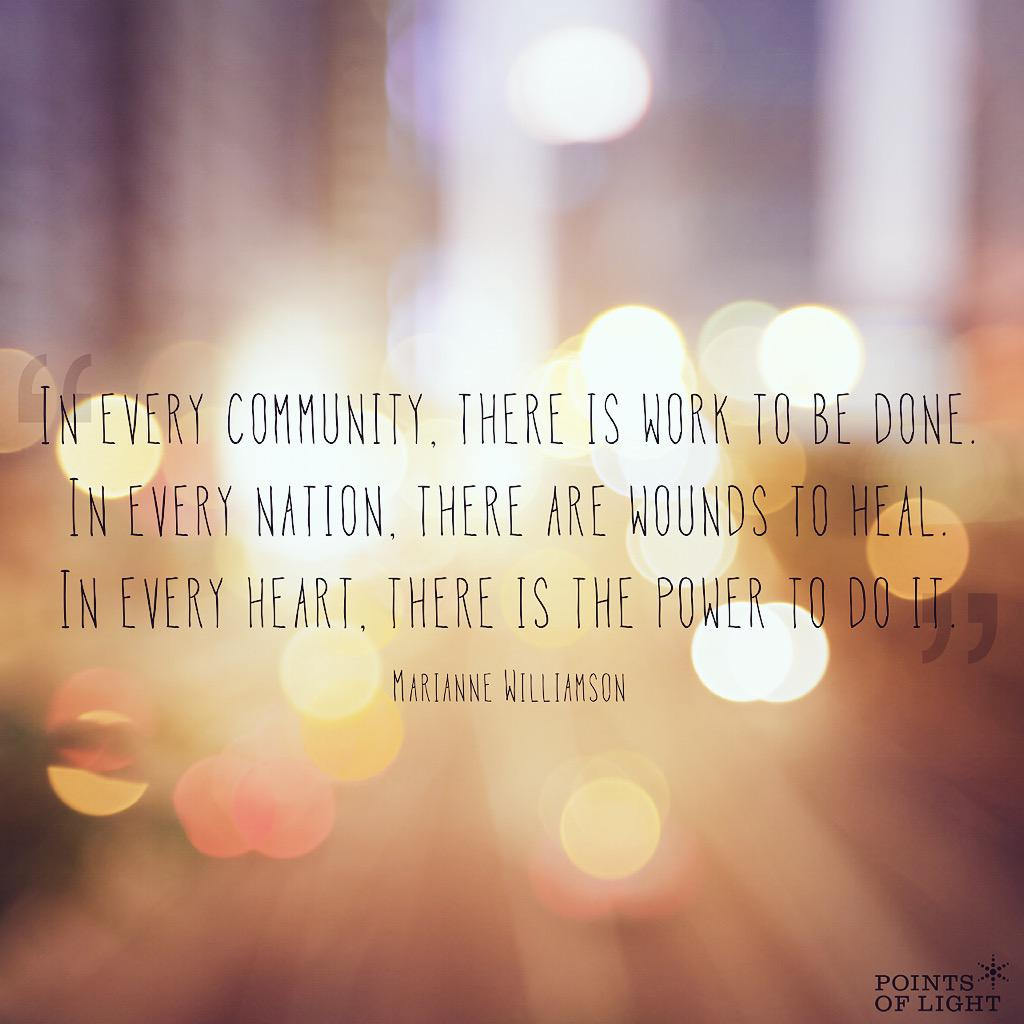 Inside each of us is the power to make a difference—for our communities, our countries, our world. #MondayMotivation http://t.co/x7Rj7qlPcS