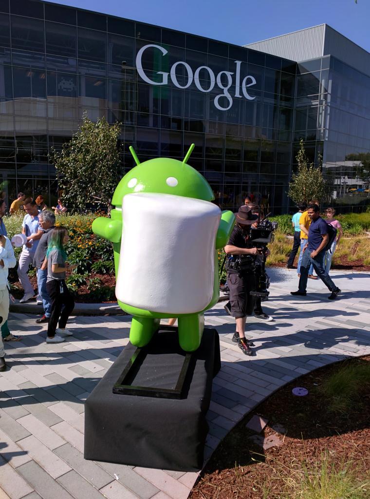 Marshmallow - der neue Name von Android M - Bildquelle: Dave Burke