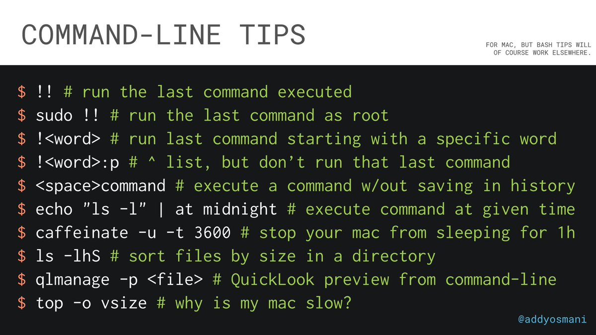 Command-line pro-tips: http://t.co/PI2g5oTtpf