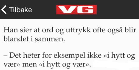VG Nett rydder opp i språkforvirringen: http://t.co/31biMDddZW