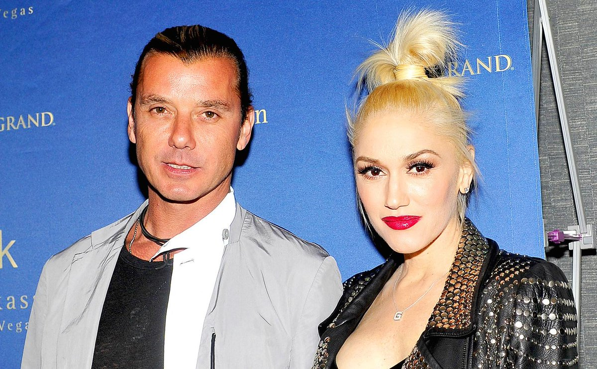 Exclusive: Gwen & Gavin reunited at the Balboa Fun Zone following their divorce announcement