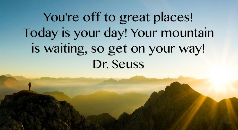 Some #MondayMotivation from Dr. Seuss! http://t.co/X7Dco5NVdU