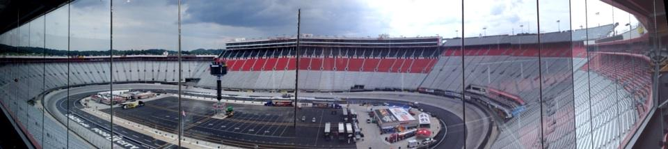 Calm before the storm @BMSupdates Come Saturday this place will be rocking for THE night race #nascar http://t.co/RCB03Nfm74
