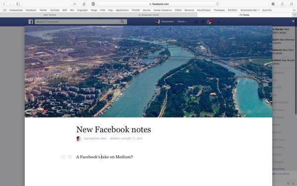 Facebook quiere convertirse en tu próximo blog