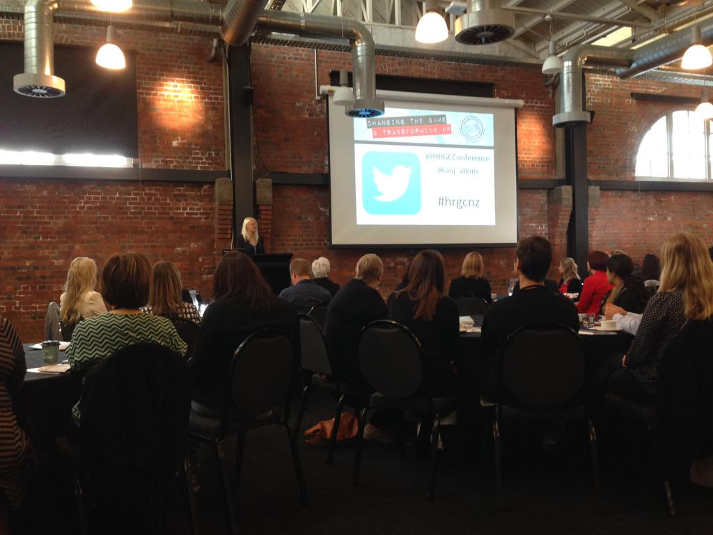 A few of us from HR Shop are at the #hrgcnz today and we're excited to listen to transformational HR ideas http://t.co/mStAchfcsa