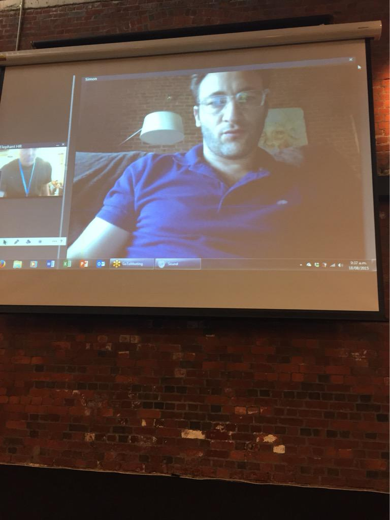 Excited seeing @simonsinek on the big screen today! Today is a good day! #hrgcnz http://t.co/IIT97B9xyT