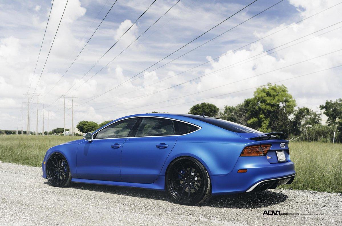 Adv 1 On Twitter Blue My Mind Matte Blue Audi Rs7 Thesignsavers Prestigeimportsmiami Williamstern Adv1wheels Http T Co Lndto6hcrg