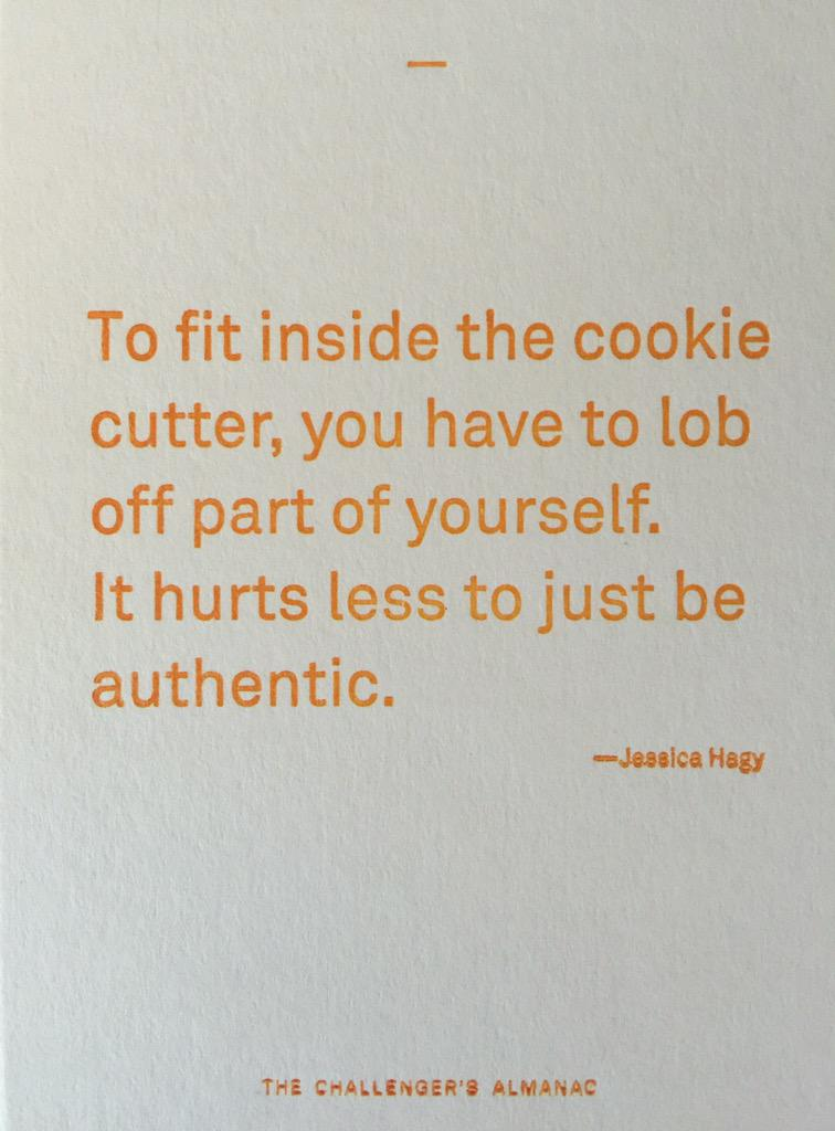 Thought provoking quote of the day from @jessicahagy http://t.co/AlBxN7sEi7
