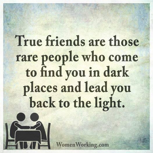 finding a true friend in a sea of people Choose your words caught between words  abhorrent describes something truly horrible like finding a dead rat in your soup,  if you feel you and your new friend.