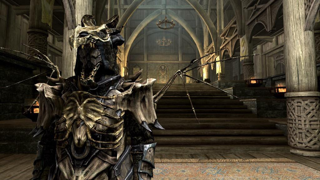 The Champ Of Tamriel On Twitter Dragon Bone Mage Armor Mod Should I Get It Dragonbone Skyrim Mage Armor Elderscrolls Tes Dragonbonearmor Http T Co 23ant2jhzl Armor pieces can be found at lower levels if the dragon armor perk is acquired before reaching. dragon bone mage armor mod