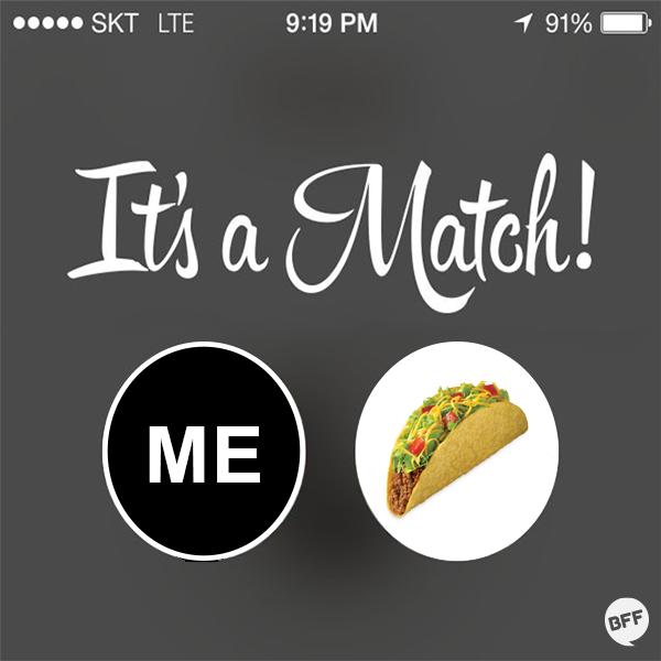 tinder its a match font
