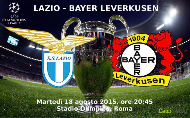 Lazio-Bayern Leverkusen, info streaming gratis Rojadirecta