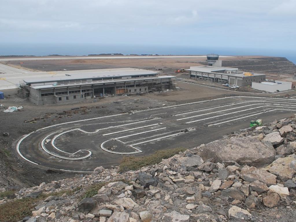 Airport st project failure helena St Helena