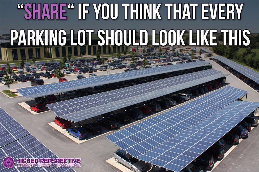 In France car parks are creating energy with solar power. Why not here. Simple planning rule change. #carparksolar http://t.co/WphjmpfqEE