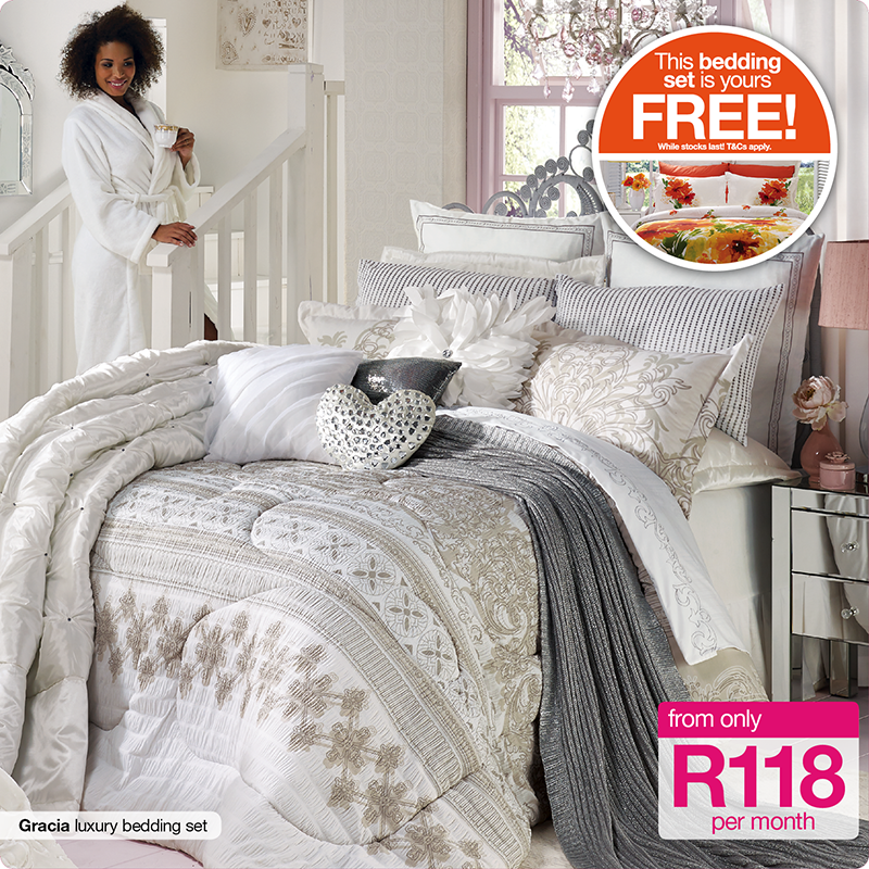 Homechoice On Twitter Get Jenna Bedding Free Buy The