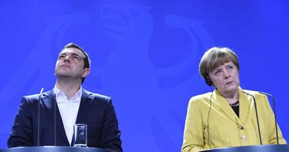 Petite leçon de racket avec un fort accent germanique : la #Grece humiliée par l' #Allemagne http://t.co/zVWmqQOlLj