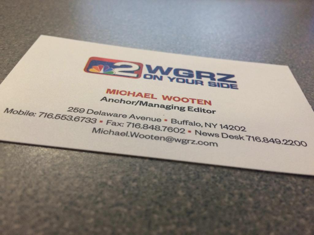 Michael Wooten On Twitter New Business Cards I Didnt Even
