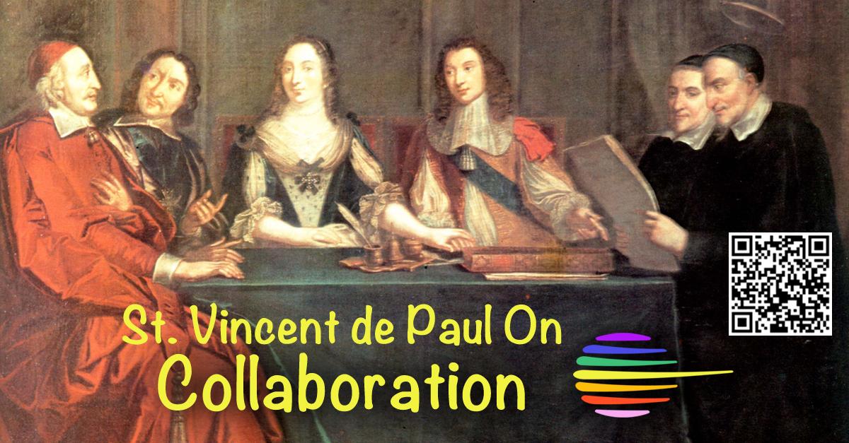 St. Vincent de Paul On Collaboration #quotes #YVC2015 View, download presentation http://t.co/3yUZBT989s http://t.co/V2YEJbDZGY