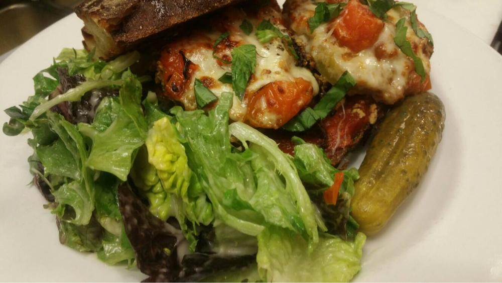 Garden Grille On Twitter Eggplant Sandwich Special With Roasted