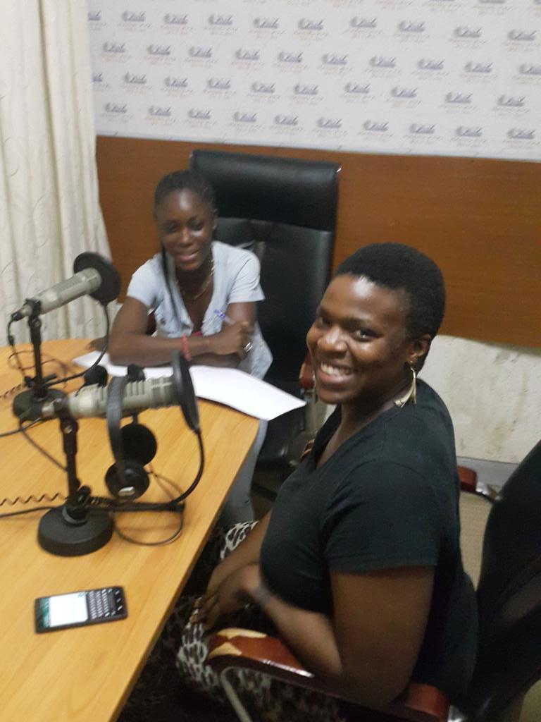 #africainfocus: Asha Boakye-Yiadom of Sekalaga Tours in the studio for #tourism @KojoAbroba @juandan71 http://t.co/UhMpJTKEmH