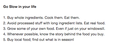 Becoming a responsible consumer, from @slowfoodhq http://t.co/ENjvjXOXds #slowfood #foodrevolution http://t.co/AIZrX1Noy3