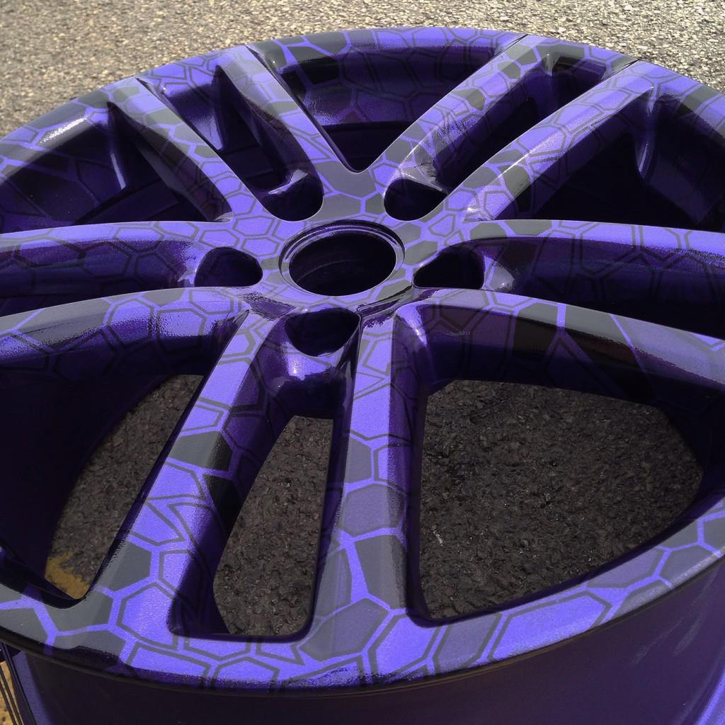 Radecustoms On Twitter 19 Vw Rims Hydro Dipped In Cryptic Camo On