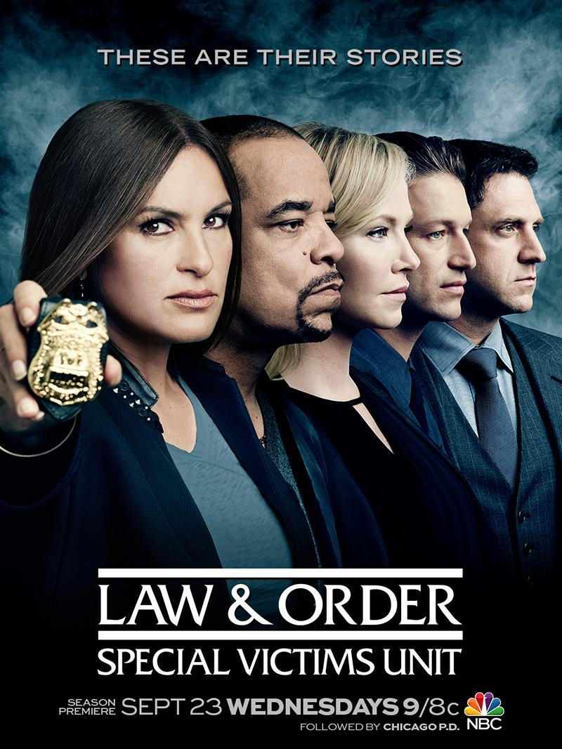 Here's a first look at #SVUSeason17KeyArt.  #SVU's two hour season premiere airs Sept. 23rd.  RT if you've missed us. http://t.co/Dkj60mbjsw