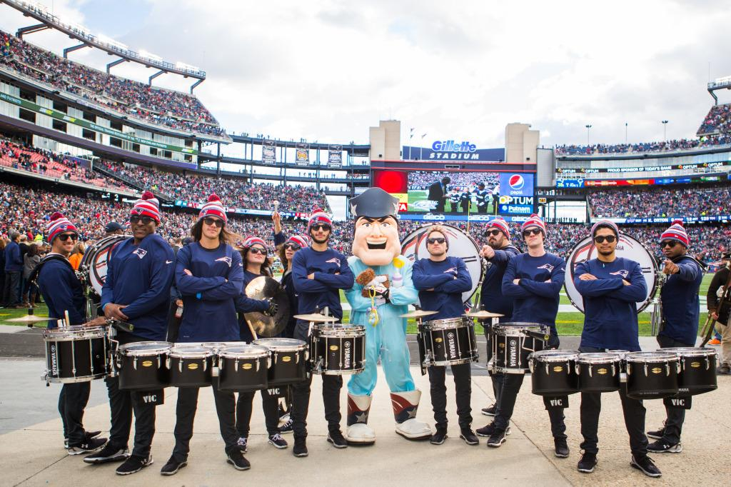 Want to play in the New England @Patriots Drumline? @GallantEI is holding auditions. Details: http://t.co/i6kBggMCIY http://t.co/G2zc4K1Cos