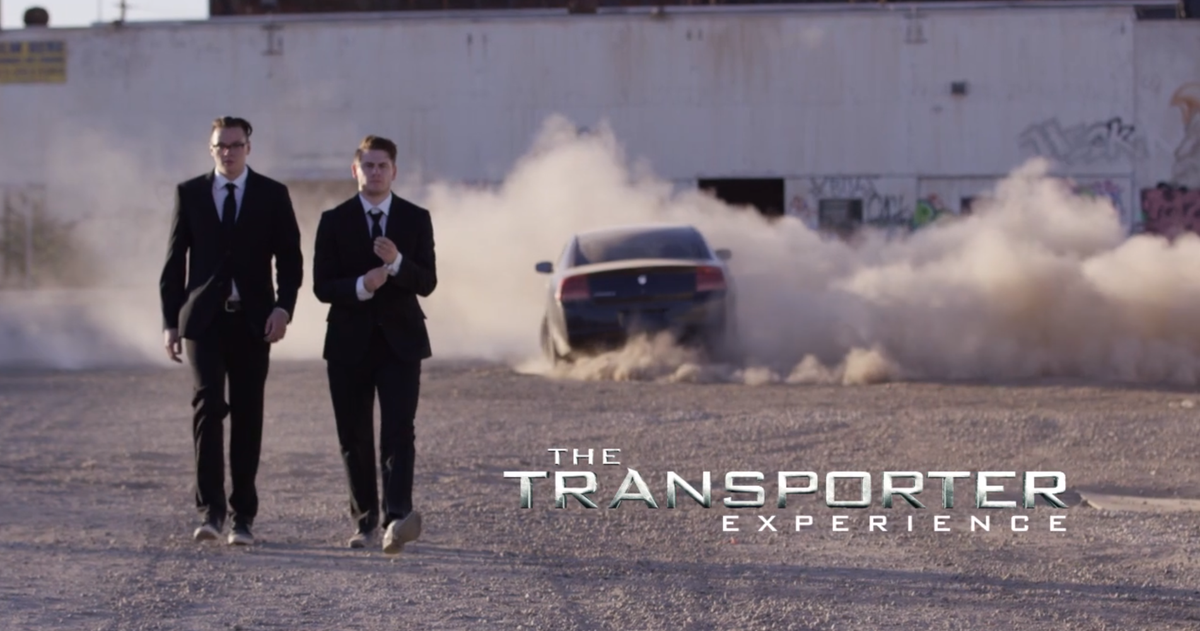 I would totally watch a movie with @StevenSuptic and @TTerroriser as buddy cop-spies. #TheTransporter #comingsoon http://t.co/0JYuctRDiH