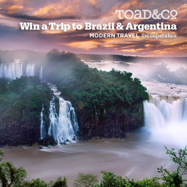You + a friend + howler monkeys. ENTER TO WIN 11 Days in Brazil & Argentina @ https://t.co/tJOP38pOWP #ModernTravel http://t.co/shYXUuLSlQ