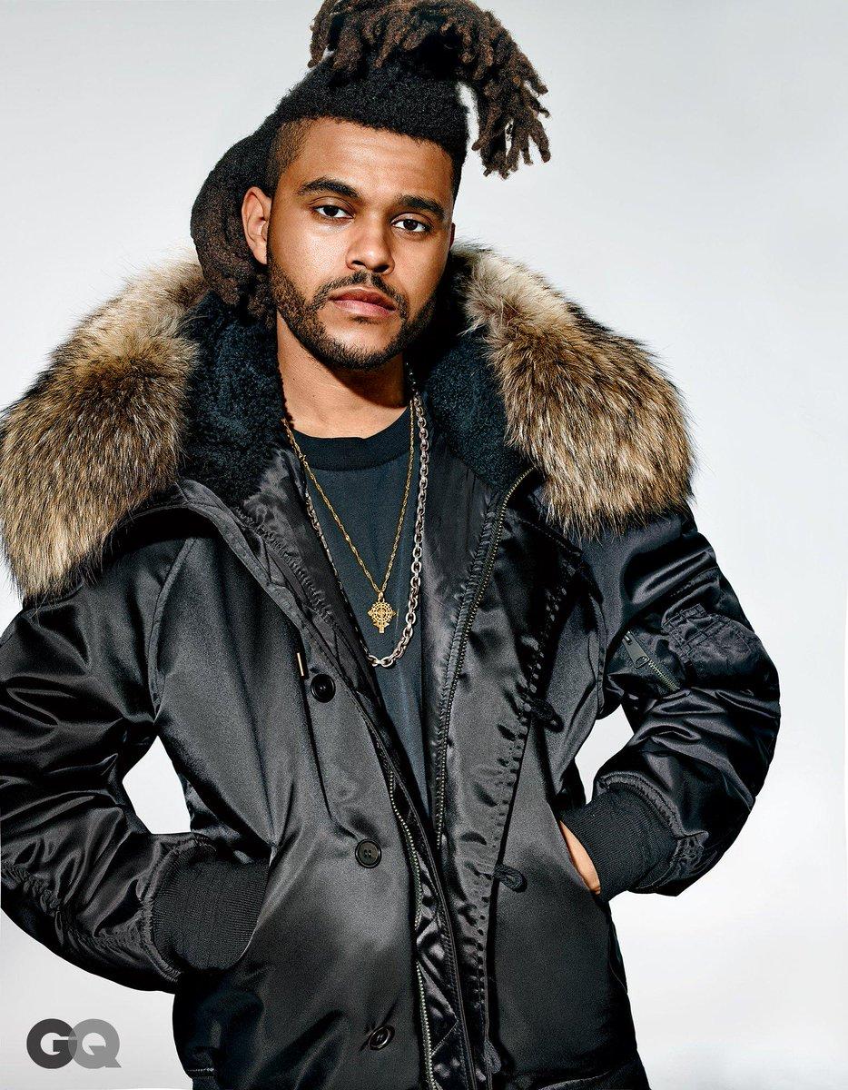 f2d85ca733fbd The Weeknd pose pour GQ intégralement habillé de la collection Yeezy Season  1 pour Adidas.pic.twitter.com CUQOHZoJFJ